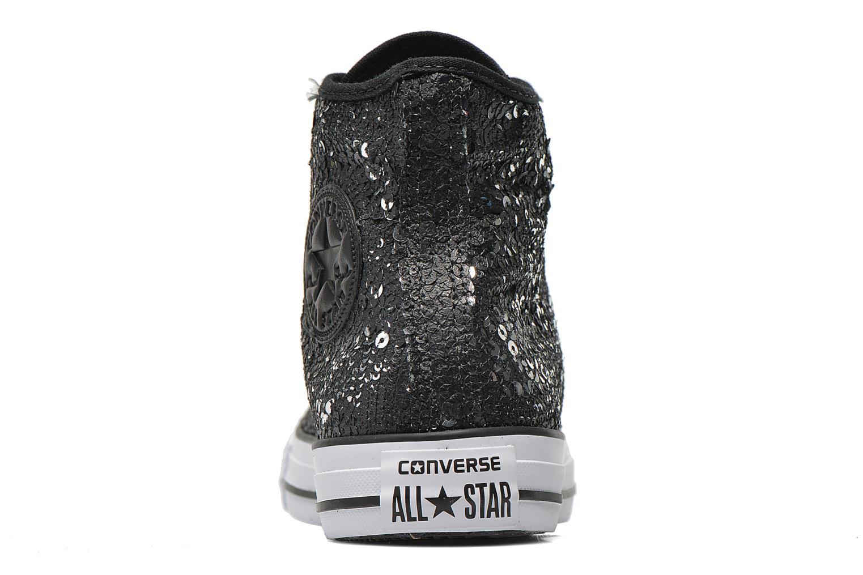 Baskets Converse Chuck Taylor All Star Distressed Sequin Noir vue droite