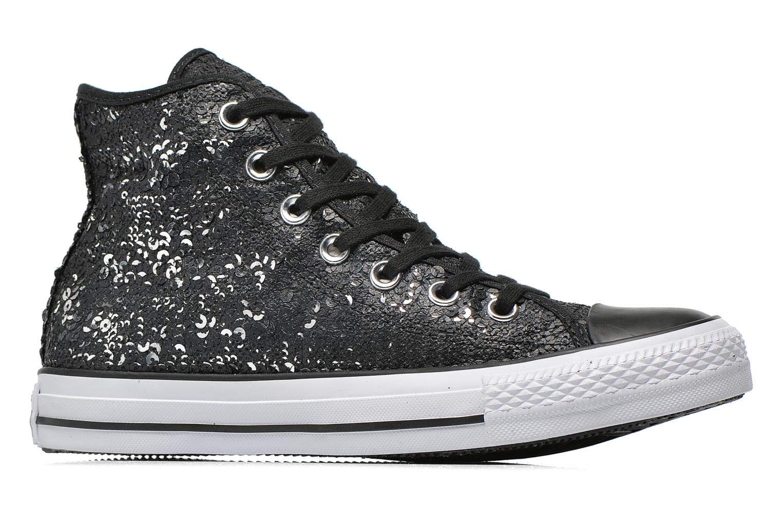 Chuck Taylor All Star Distressed Sequin Black-black-white