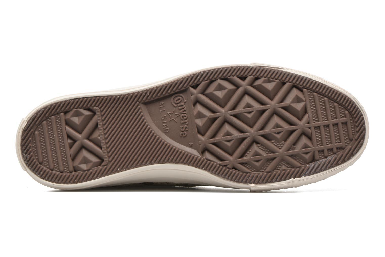 Sneaker Converse Chuck Taylor All Star Distressed Sequin beige ansicht von oben