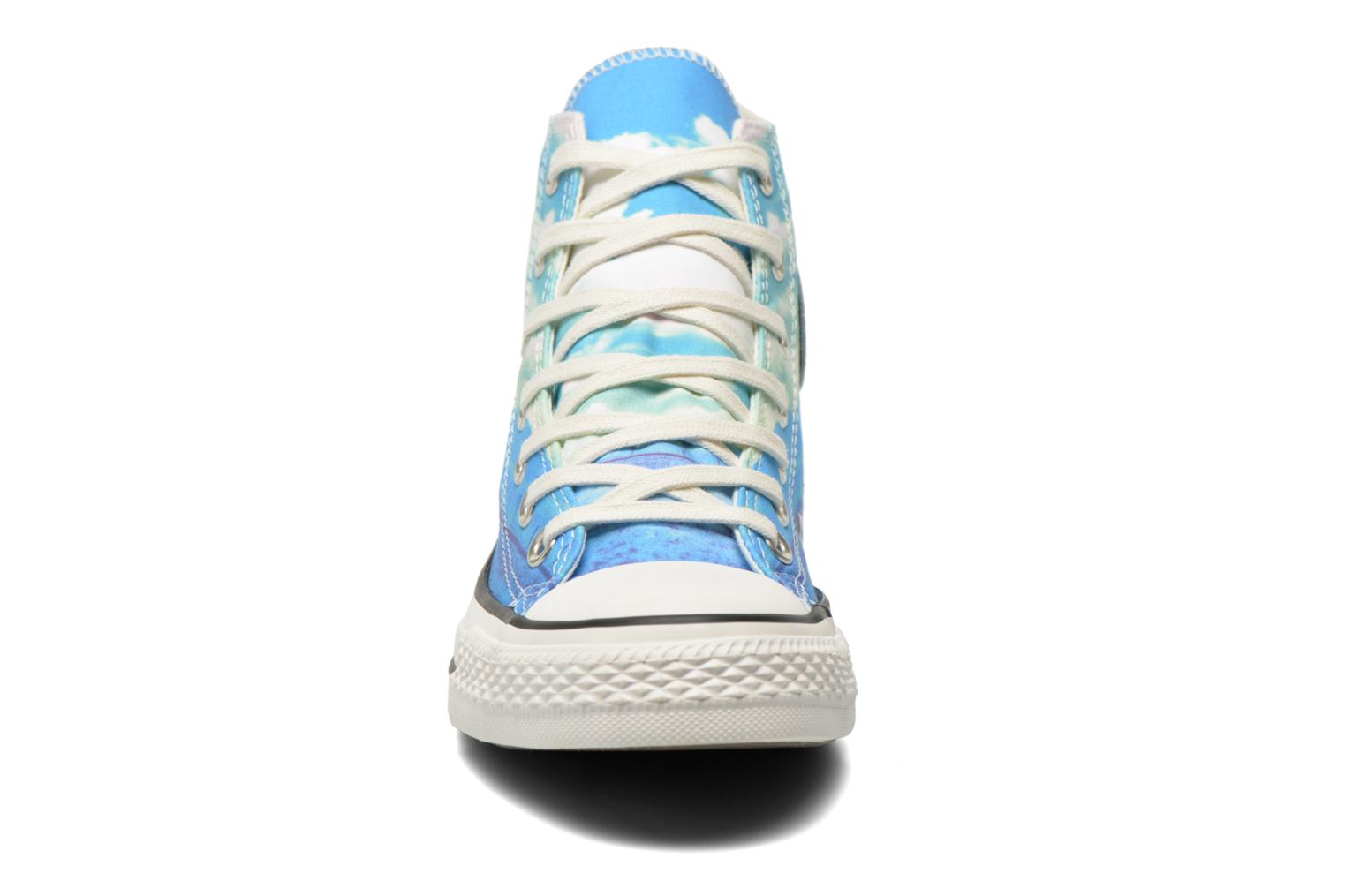 Trainers Converse Chuck Taylor All Star Hi Photo Real Sunset W Multicolor model view