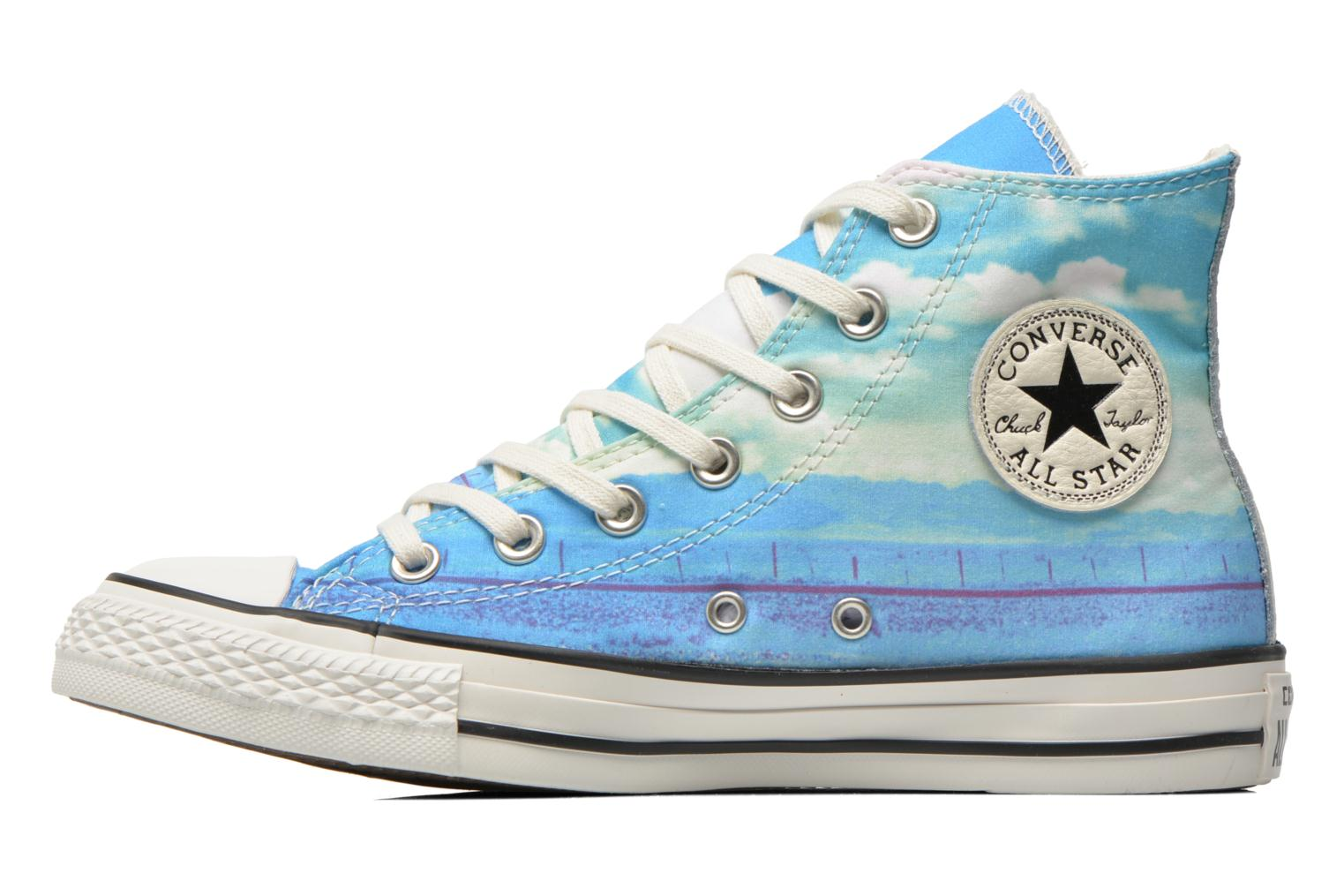Baskets Converse Chuck Taylor All Star Hi Photo Real Sunset W Multicolore vue face