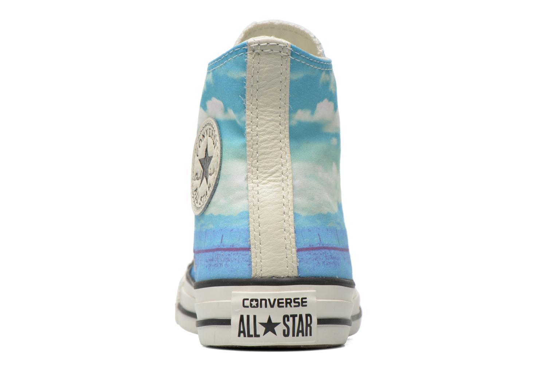 Sneaker Converse Chuck Taylor All Star Hi Photo Real Sunset W mehrfarbig ansicht von rechts