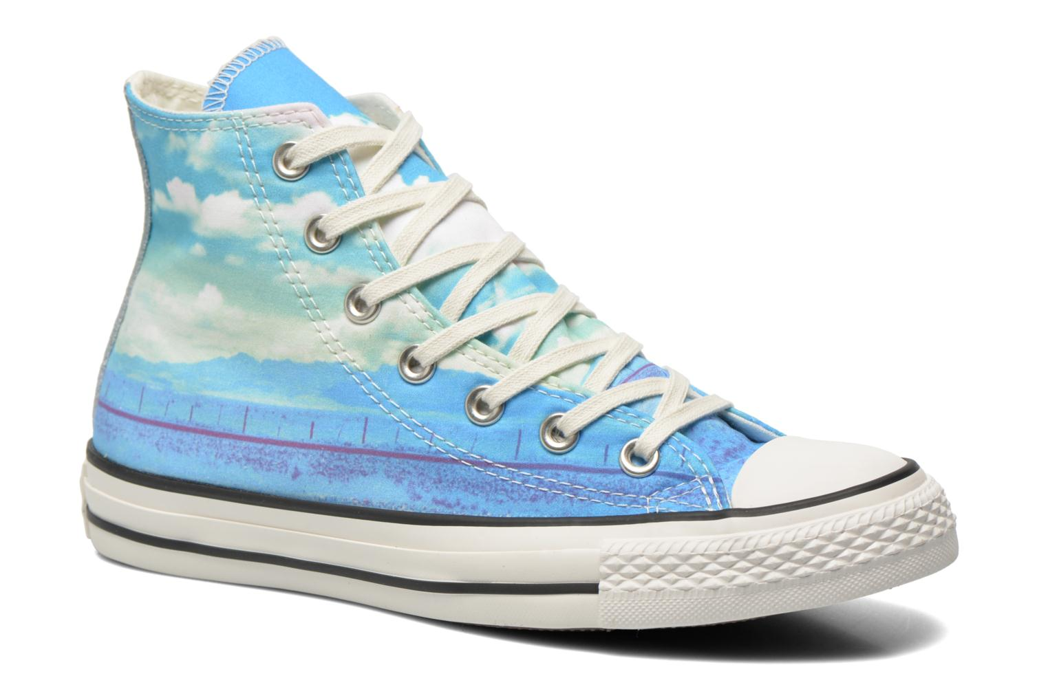 Trainers Converse Chuck Taylor All Star Hi Photo Real Sunset W Multicolor detailed view/ Pair view