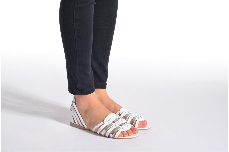 Sandales et nu-pieds I Love Shoes Damuse Beige vue bas / vue portée sac