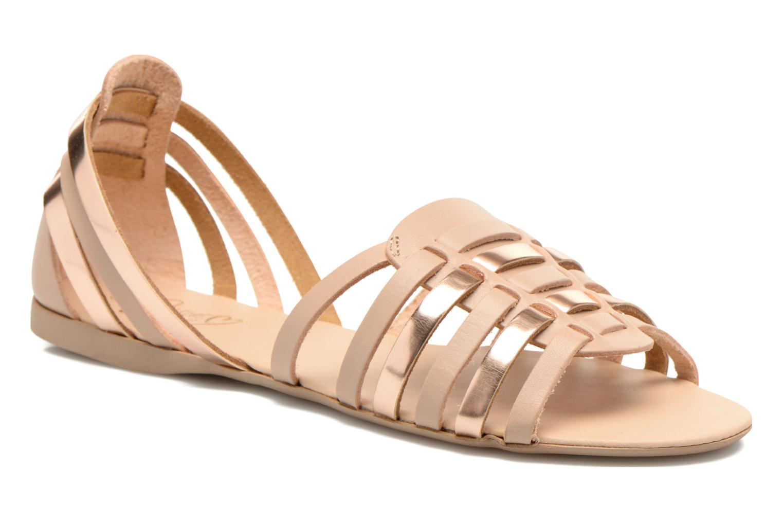 Sandales et nu-pieds I Love Shoes Damuse Beige vue détail/paire