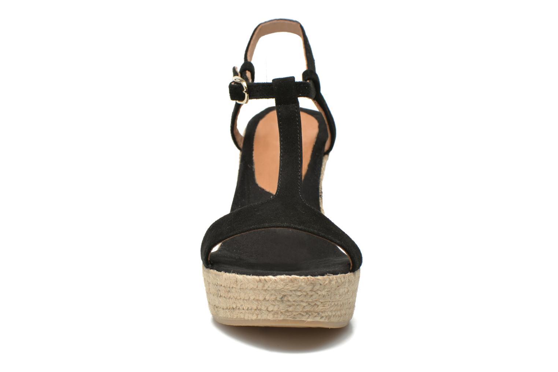 Sandales et nu-pieds Georgia Rose Dalert Noir vue portées chaussures