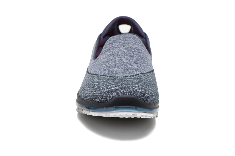 Chaussures de sport Skechers Go Flex 14010 Bleu vue portées chaussures
