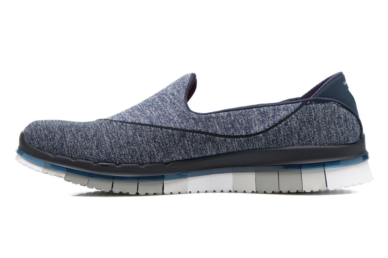 Chaussures de sport Skechers Go Flex 14010 Bleu vue face