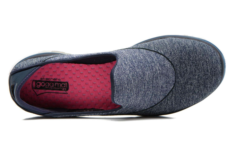 Chaussures de sport Skechers Go Flex 14010 Bleu vue gauche