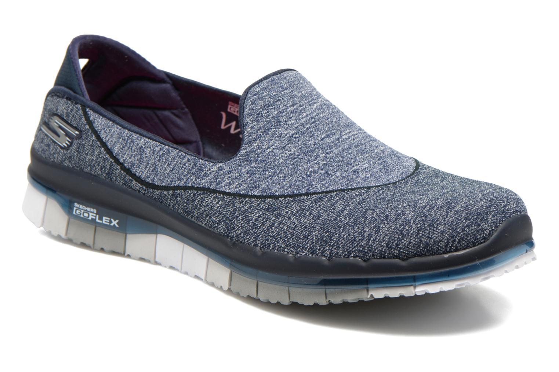 Chaussures de sport Skechers Go Flex 14010 Bleu vue détail/paire