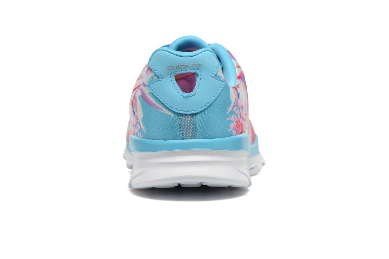 Sportschuhe Skechers Go Fit Tr - Bayrose 14091 blau ansicht von rechts