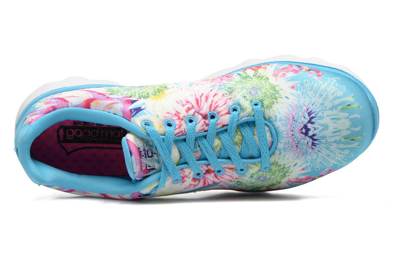 Chaussures de sport Skechers Go Fit Tr - Bayrose 14091 Bleu vue gauche