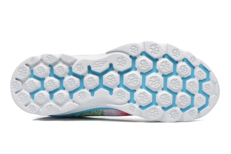 Chaussures de sport Skechers Go Fit Tr - Bayrose 14091 Bleu vue haut