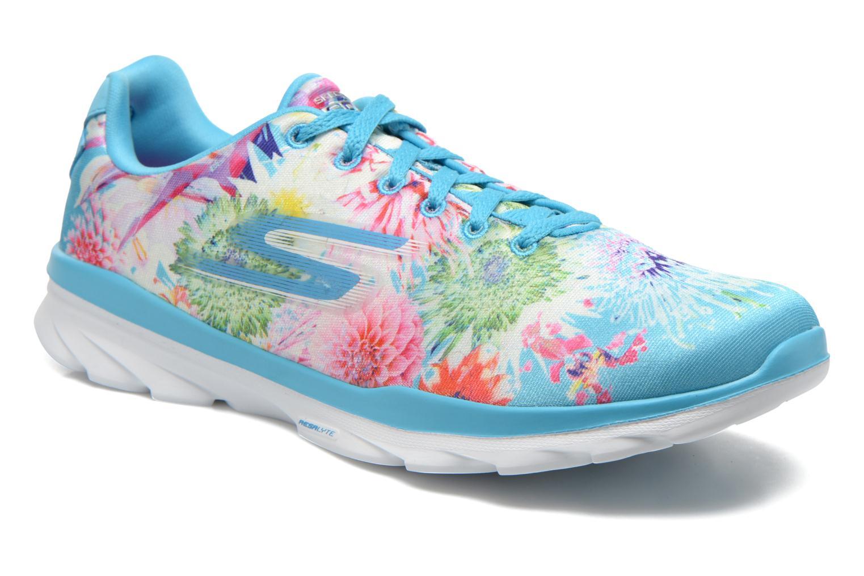 Chaussures de sport Skechers Go Fit Tr - Bayrose 14091 Bleu vue détail/paire