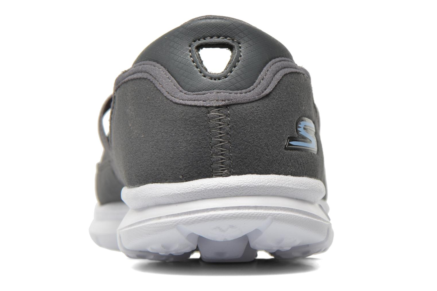 Ballet pumps Skechers Go Step - Original 14213 Grey view from the right