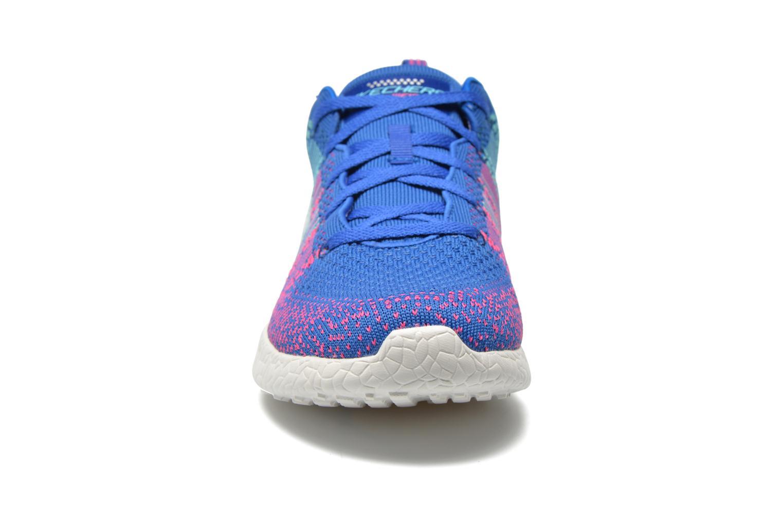 Chaussures de sport Skechers Burst - Ellipse 12437 Bleu vue portées chaussures
