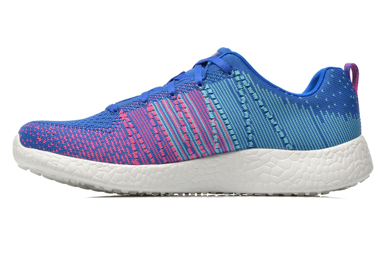 Chaussures de sport Skechers Burst - Ellipse 12437 Bleu vue face