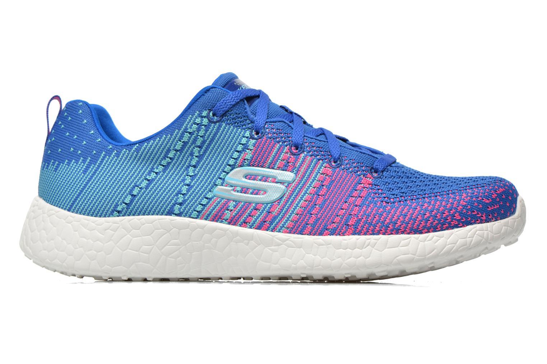 Ellipse Burst 12437 Blue hot pink Skechers nYOWSBZFW
