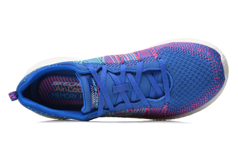 Chaussures de sport Skechers Burst - Ellipse 12437 Bleu vue gauche