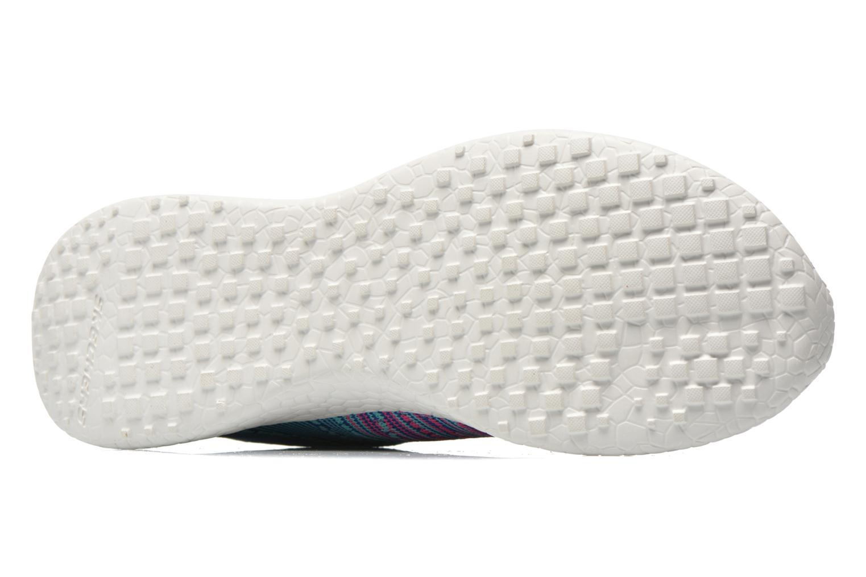 Chaussures de sport Skechers Burst - Ellipse 12437 Bleu vue haut