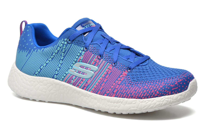 Chaussures de sport Skechers Burst - Ellipse 12437 Bleu vue détail/paire