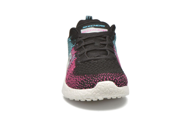 Chaussures de sport Skechers Burst - Ellipse 12437 Noir vue portées chaussures