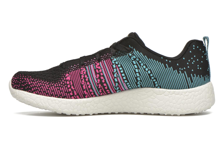 Chaussures de sport Skechers Burst - Ellipse 12437 Noir vue face