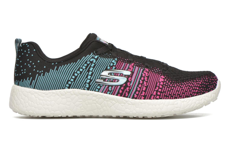 Chaussures de sport Skechers Burst - Ellipse 12437 Noir vue derrière
