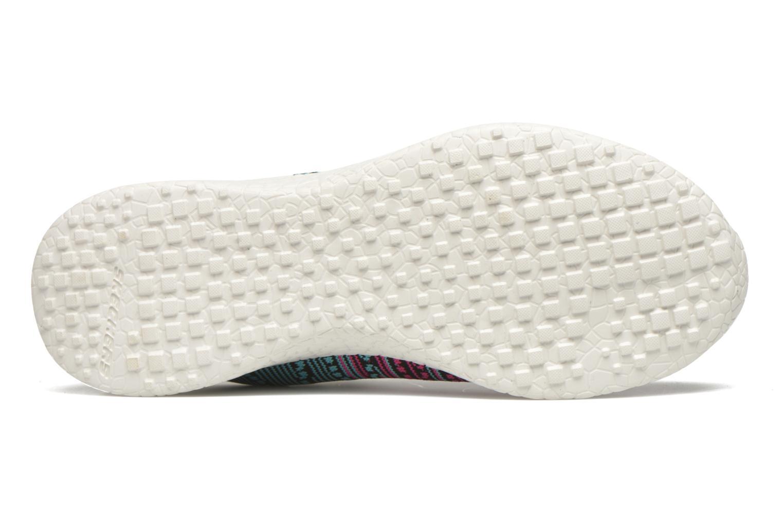 Zapatillas de deporte Skechers Burst - Ellipse 12437 Negro vista de arriba