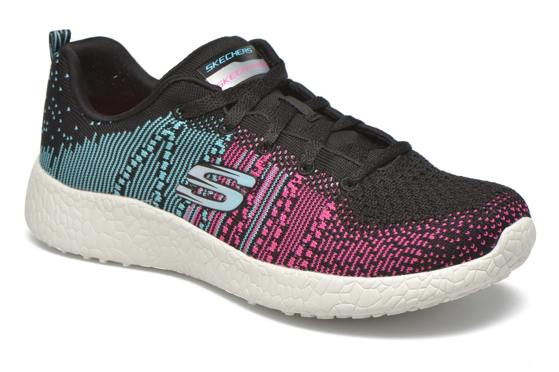 Zapatillas de deporte Skechers Burst - Ellipse 12437 Negro vista de detalle / par