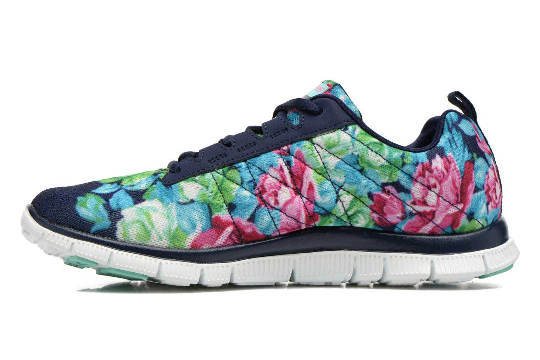 Zapatillas de deporte Skechers Flex Appeal- Wildflowers 12448 Multicolor vista de frente