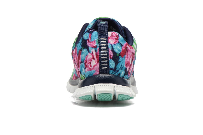Scarpe sportive Skechers Flex Appeal- Wildflowers 12448 Multicolore immagine destra