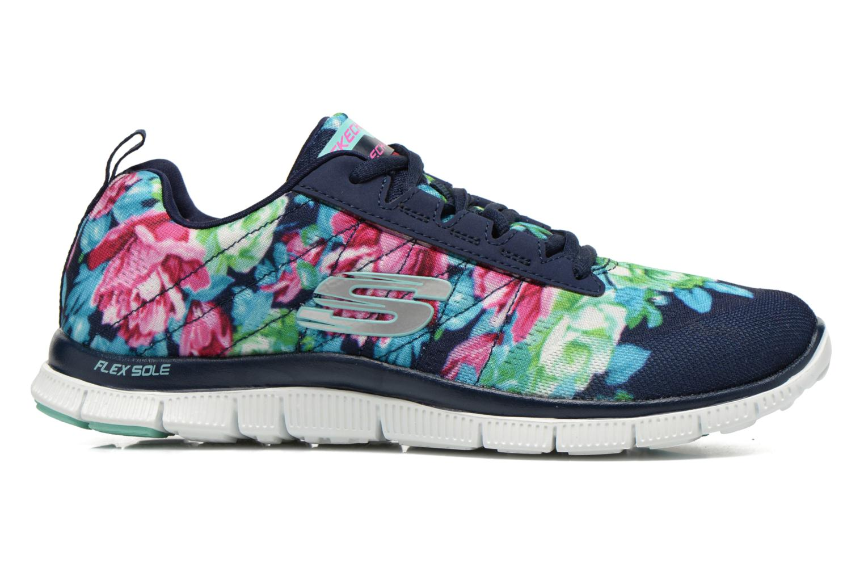 Scarpe sportive Skechers Flex Appeal- Wildflowers 12448 Multicolore immagine posteriore