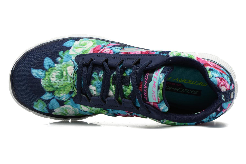 Zapatillas de deporte Skechers Flex Appeal- Wildflowers 12448 Multicolor vista lateral izquierda
