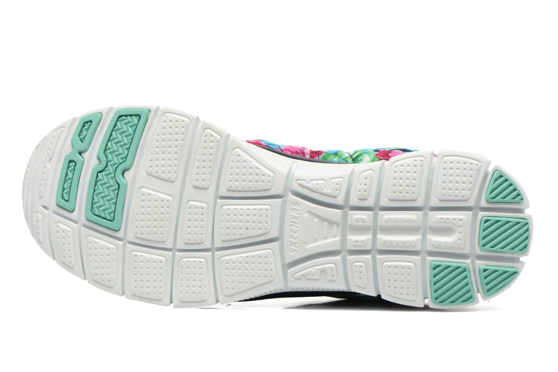Chaussures de sport Skechers Flex Appeal- Wildflowers 12448 Multicolore vue haut