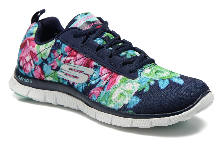 Chaussures de sport Skechers Flex Appeal- Wildflowers 12448 Multicolore vue détail/paire