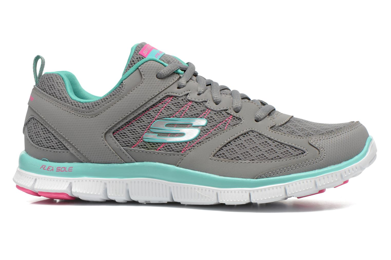Chaussures de sport Skechers Flex Appeal 12452 Gris vue derrière