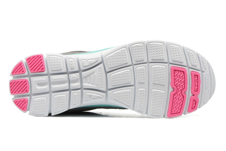 Chaussures de sport Skechers Flex Appeal 12452 Gris vue haut