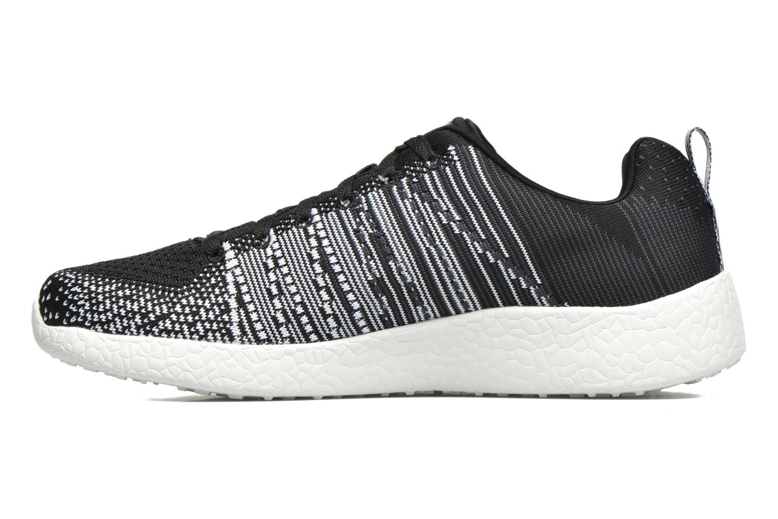 Sport shoes Skechers Burst - In The Mix 52107 Black front view