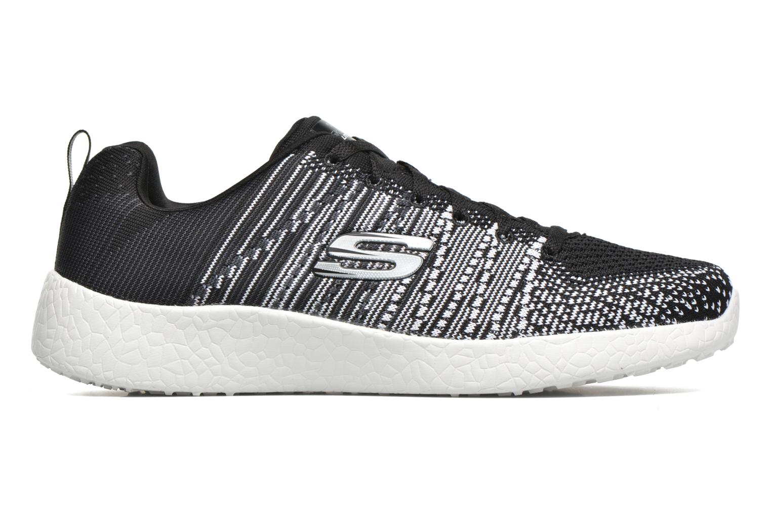 Sport shoes Skechers Burst - In The Mix 52107 Black back view
