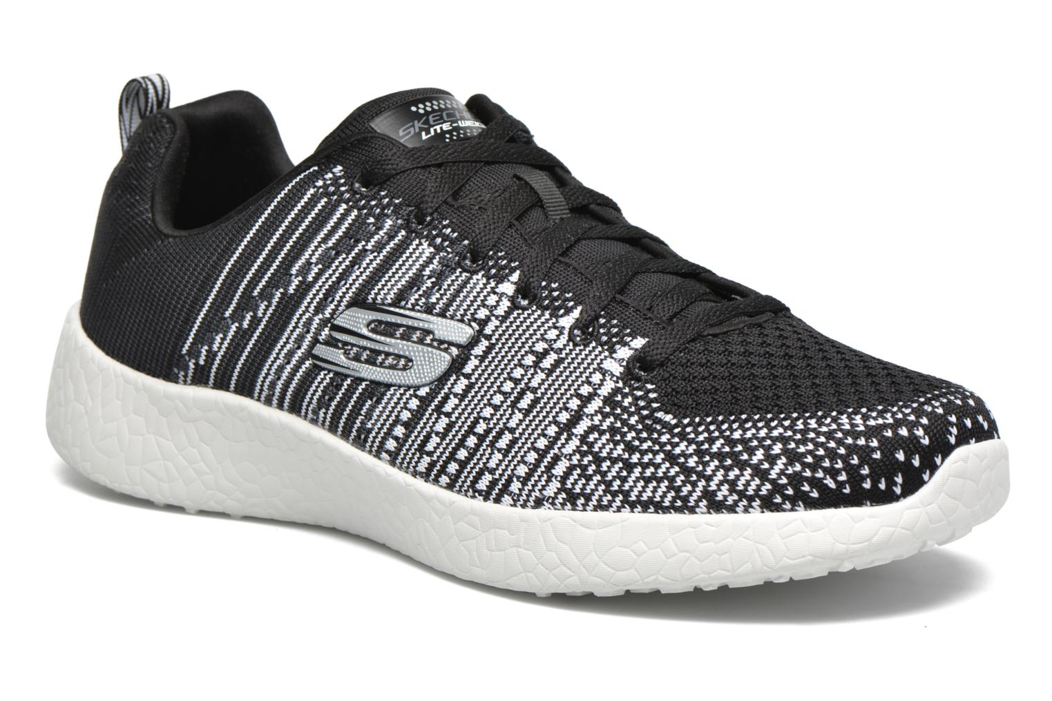 Sport shoes Skechers Burst - In The Mix 52107 Black detailed view/ Pair view