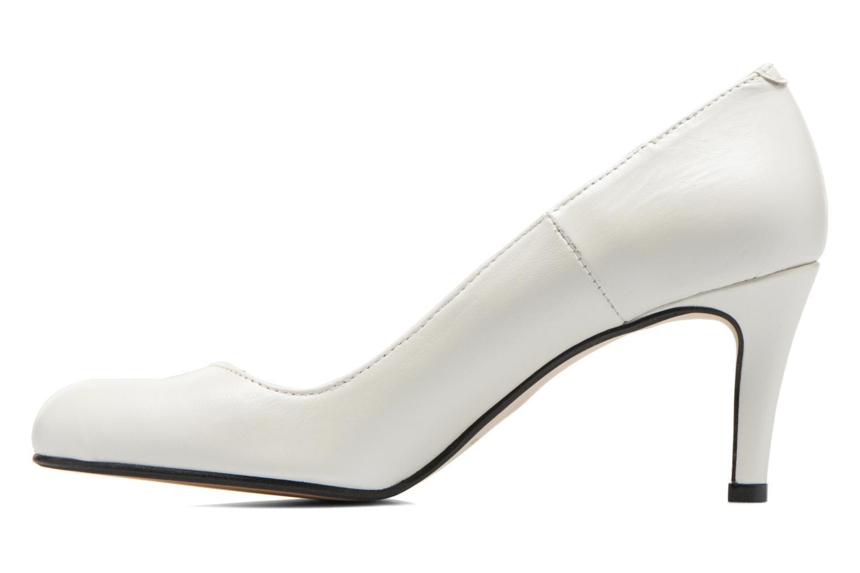 High heels Georgia Rose Selina White front view