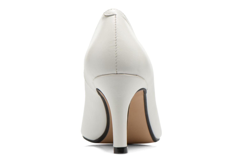Zapatos de tacón Georgia Rose Selina Blanco vista lateral derecha