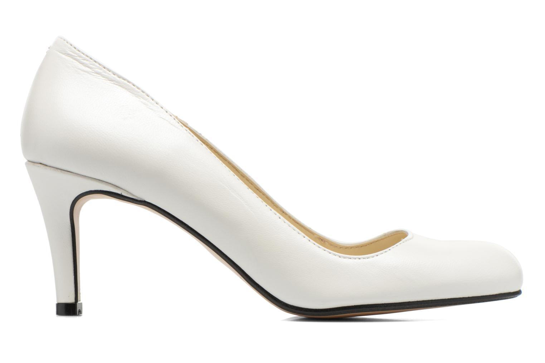 Zapatos de tacón Georgia Rose Selina Blanco vistra trasera