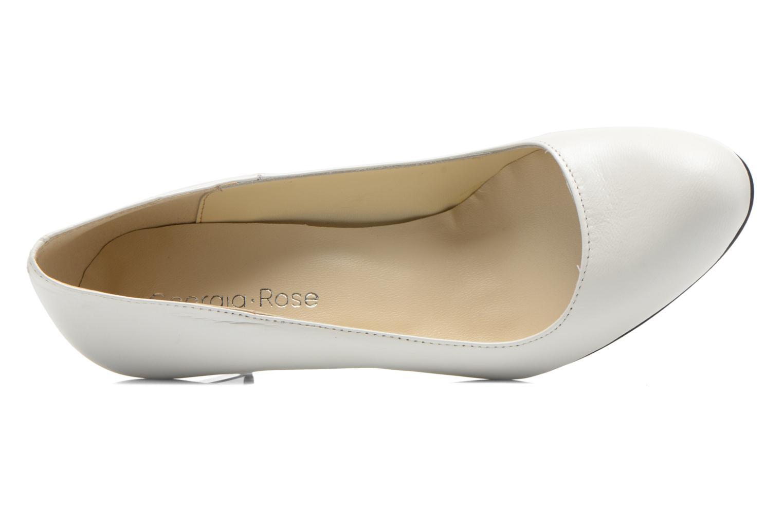 Zapatos de tacón Georgia Rose Selina Blanco vista lateral izquierda