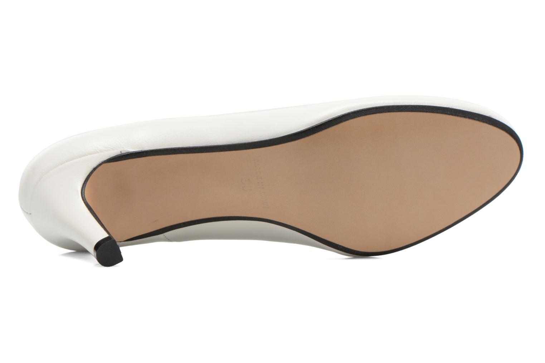 Zapatos de tacón Georgia Rose Selina Blanco vista de arriba