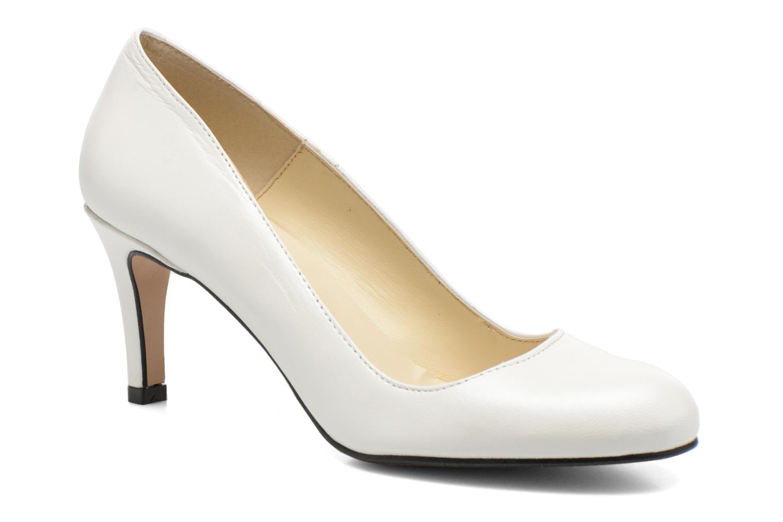 High heels Georgia Rose Selina White detailed view/ Pair view