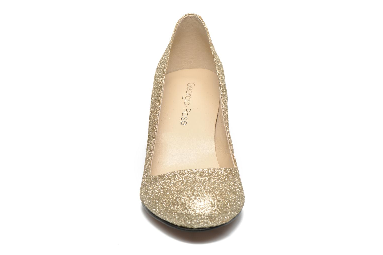 High heels Georgia Rose Selina Bronze and Gold model view