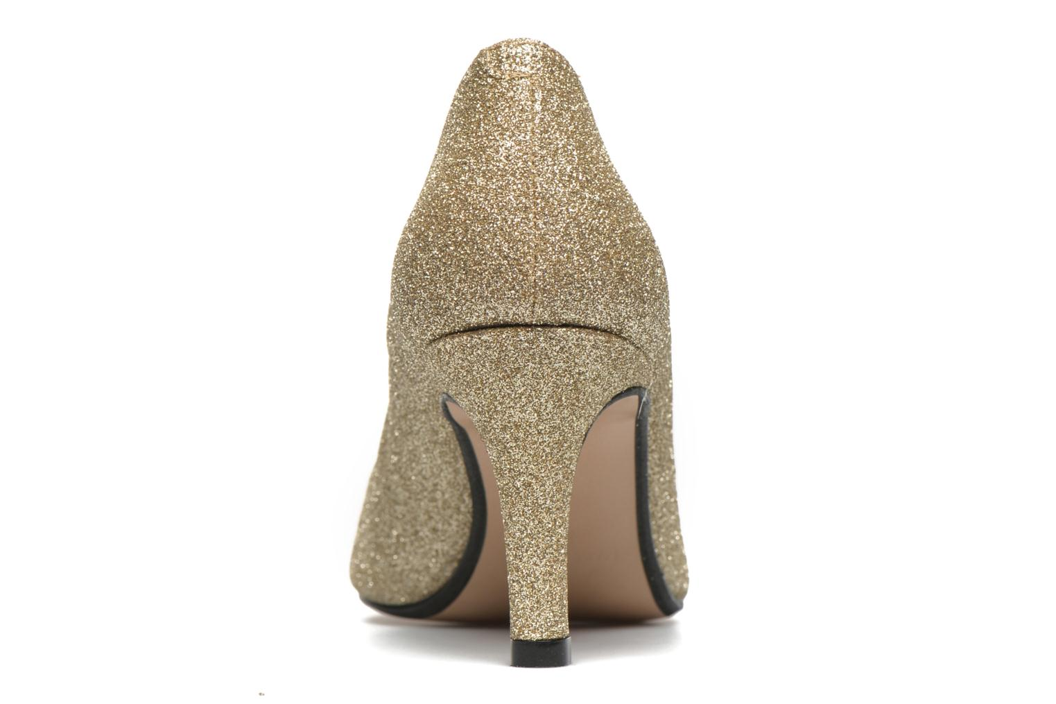 High heels Georgia Rose Selina Bronze and Gold view from the right