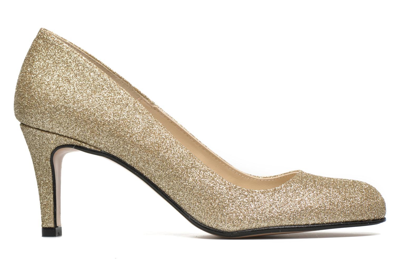 High heels Georgia Rose Selina Bronze and Gold back view